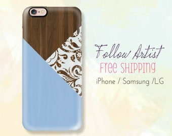 Portion Wood Printed Case,Texture iPhone Case,Lace Case, iPhone 6 Case,Samsung Case,LG Case,Nature Case,Color Texture,Free Shipping Case