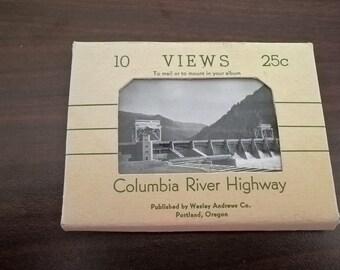 Vintage Columbia River Highway Souvenir Views **FREE SHIPPING**