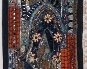 Decorative Wall Hanging patchwork luxury heavy quality kotsa sawais