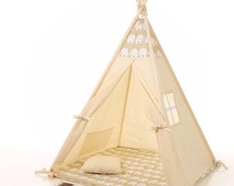 Kids teepee play tent wigwam, children's teepee, playtent, tipi, wigwam, kids teepee, tent, play teepee, high quality wigwam