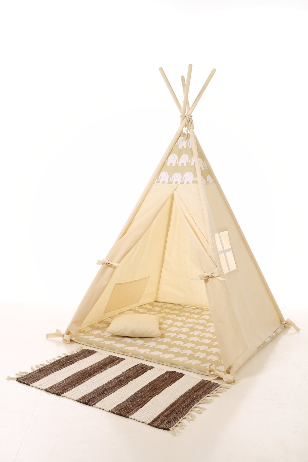 Kids Teepee Play Tent Wigwam Children 39 S Teepee Playtent