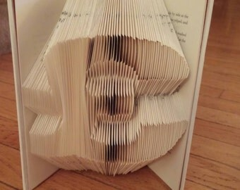 Pound Sign Folded Book