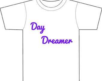 Day Dreamer shirt decal