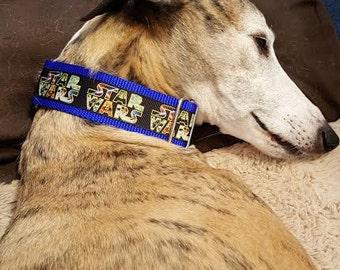 Dog collar, Star Wars, Martingale collar, Buckle collar, webbing collar