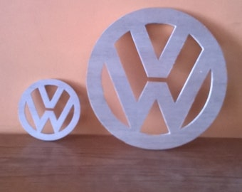 vw place mats and coasters for valentine