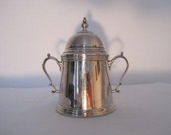 Sugar bowl with lid (800 silver - 344 gr)
