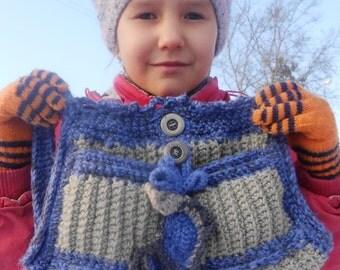 Сomfortable tote,freeform tote,freeform handbag,blue handbag,blue tote,grey bag,grey tote,crochet bag,crochet tote,crochet freeform tote