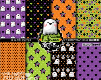 80%OFF - Halloween Digital Paper, COMMERCIAL USE, Halloween Printable Paper, Digital Paper Pack, Halloween Party, Halloween Celebration