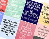 Chick Flick Quotes - Planner Stickers (SKU043)