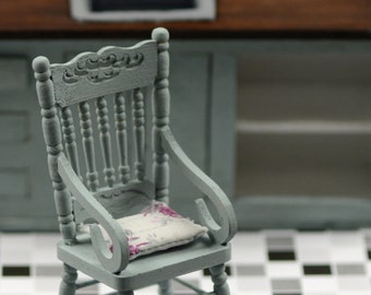 1 / 12 rocking chair with cushion