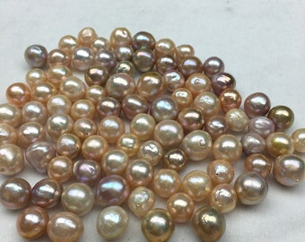 12-15mm Edison Baroque Loose Pearl Beads wholesale,large nucleated pearls