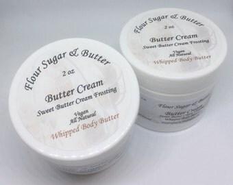 Butter Cream Whipped Body Butter