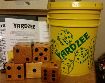 Yardzee Family Game