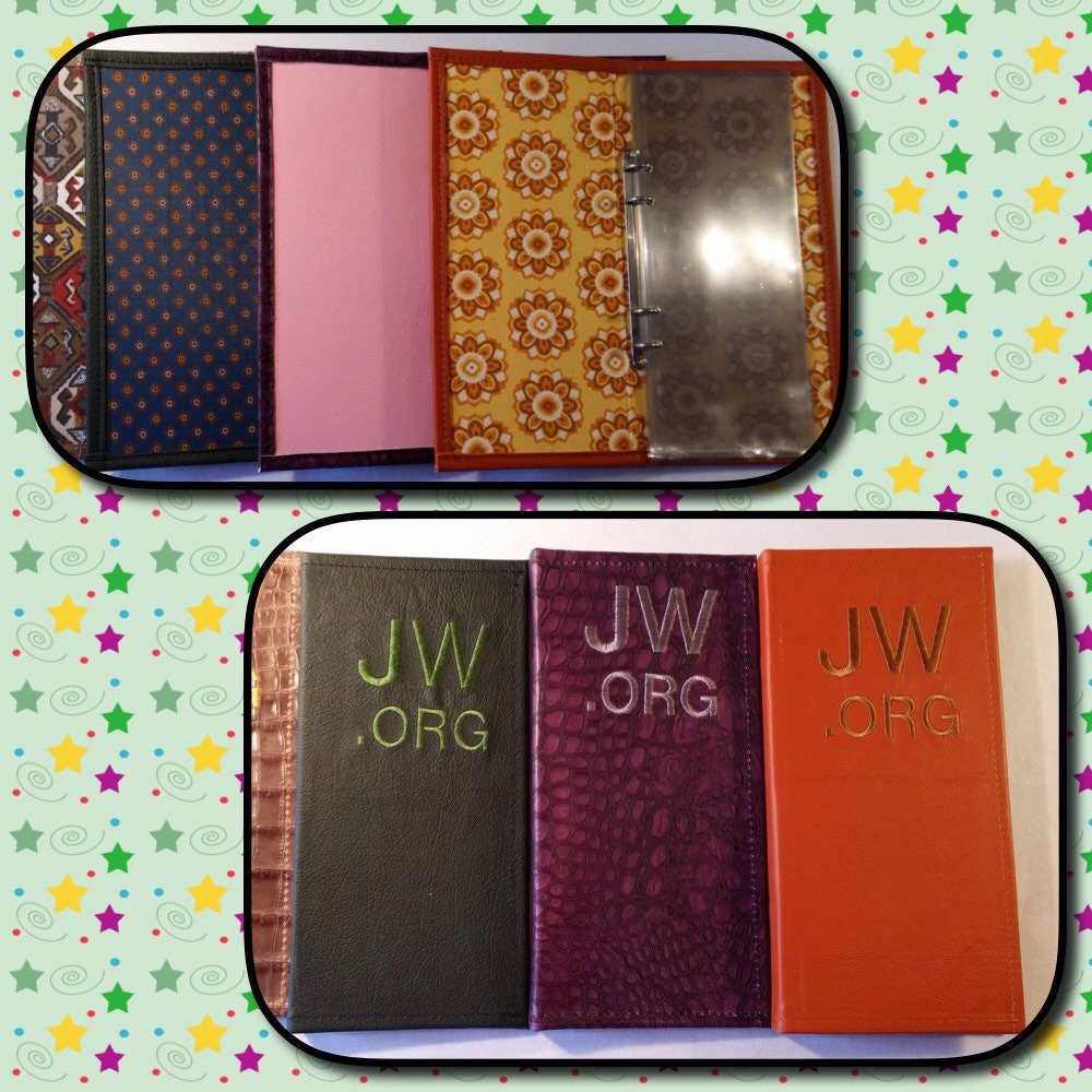 Cozy Leather Tract Holder Jehovah39s Witnesses Purple - Ivoiregion
