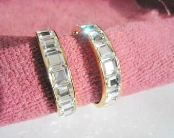 Park Lane 1/2 Hoop Pierced Earrings