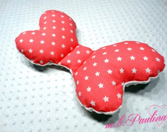 Neck pillow with personalization and Cuddliest minky - star