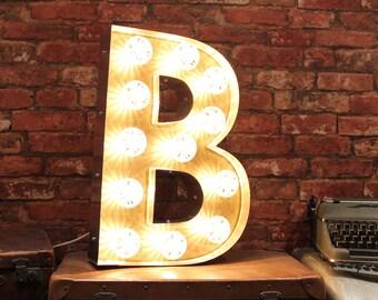 Letter Light B