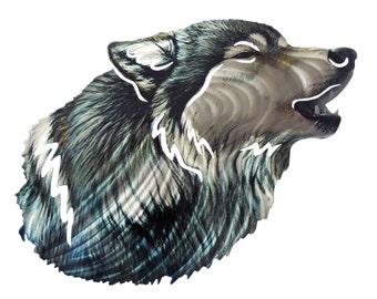 Next Innovations JQ Wolf 3D Steel Wall Art