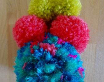 Big and Bold Pompom Necklace