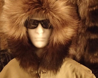 Premium Wolverine Fur Parka Ruff