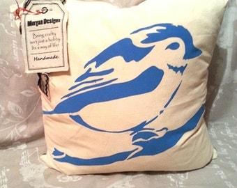Blue Bird Cushion