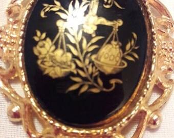 Vintage reversible pendant