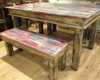 Canton Style Table Set (Americana)