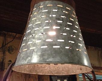 Olive Bucket Light