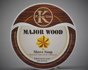 Major Wood Shave Soap