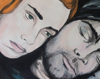 ETERNAL SUNSHINE of the spotless mind original DRAWING