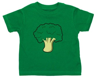Broccoli toddler t-shirt