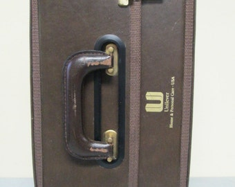 Vintage Unilever Home & Personal Care USA Hard Travel Case Briefcase Bag