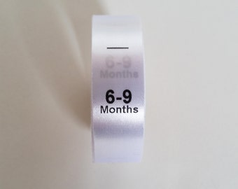 6-9mth size labels.  Baby Clothing Tags