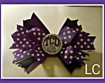 TCU stacked bow!!