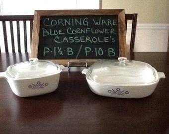 CorningWare Casserole 4 piece set