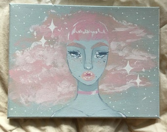 Take Me Away Original Actylic on Canvass Painting