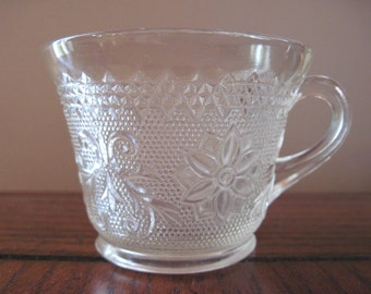 Anchor Hocking Sandwich Glass Cup - Item #1106