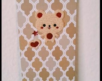 Cute Bear Bookmark
