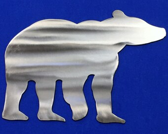 Bear Metal Wall Art forest Wild life Cabin Forest Skilwerx house Home Decor