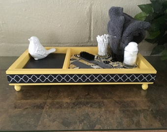 Vanity, counter , or dresser tray.