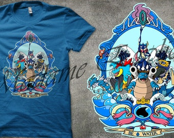T-shirt Pokemon Water