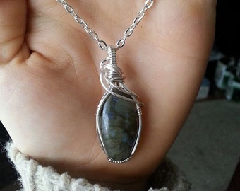 Labradorite in Silver