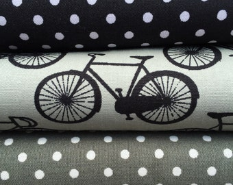 Bicycles and Polka Dots Fat Quarter Bundle