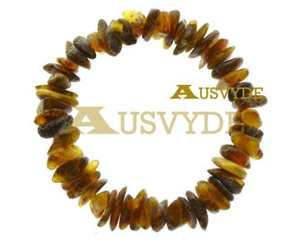 12% OFF 12OFFDISCOUNT Baltic amber raw bracelet for Adults, raw unpolished Amber, Remedy, Perfect Gift Idea, 5414