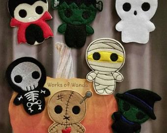 Halloween Finger Puppet Set