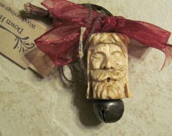 Small Vintage Santa Spool