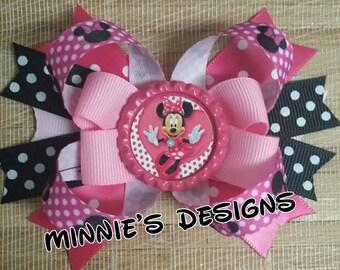 Minnie mouse hair bow, Minnie mouse birthday, Minnie mouse invitations Minnie mouse centerpiecw,Minnie mouse dtess,Minnie mouse shirt