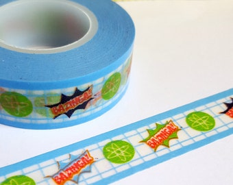 Washi Sample - Bazinga Washi Sample - Big Bang Theory Washi Sample