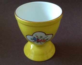 Egg Cup - Hand Painted France Limoges By DuBarry
