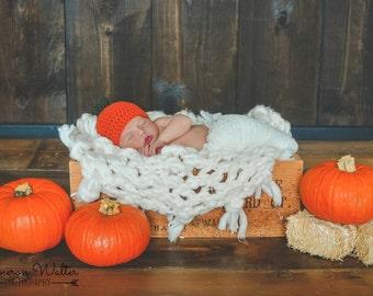Crochet Pumpkin Hat   baby pumpkin hat, Fall baby hat, Fall baby gift, pumpkin baby gift, pumpkin beanie, kids pumpkin hat, Fall pumpkin hat
